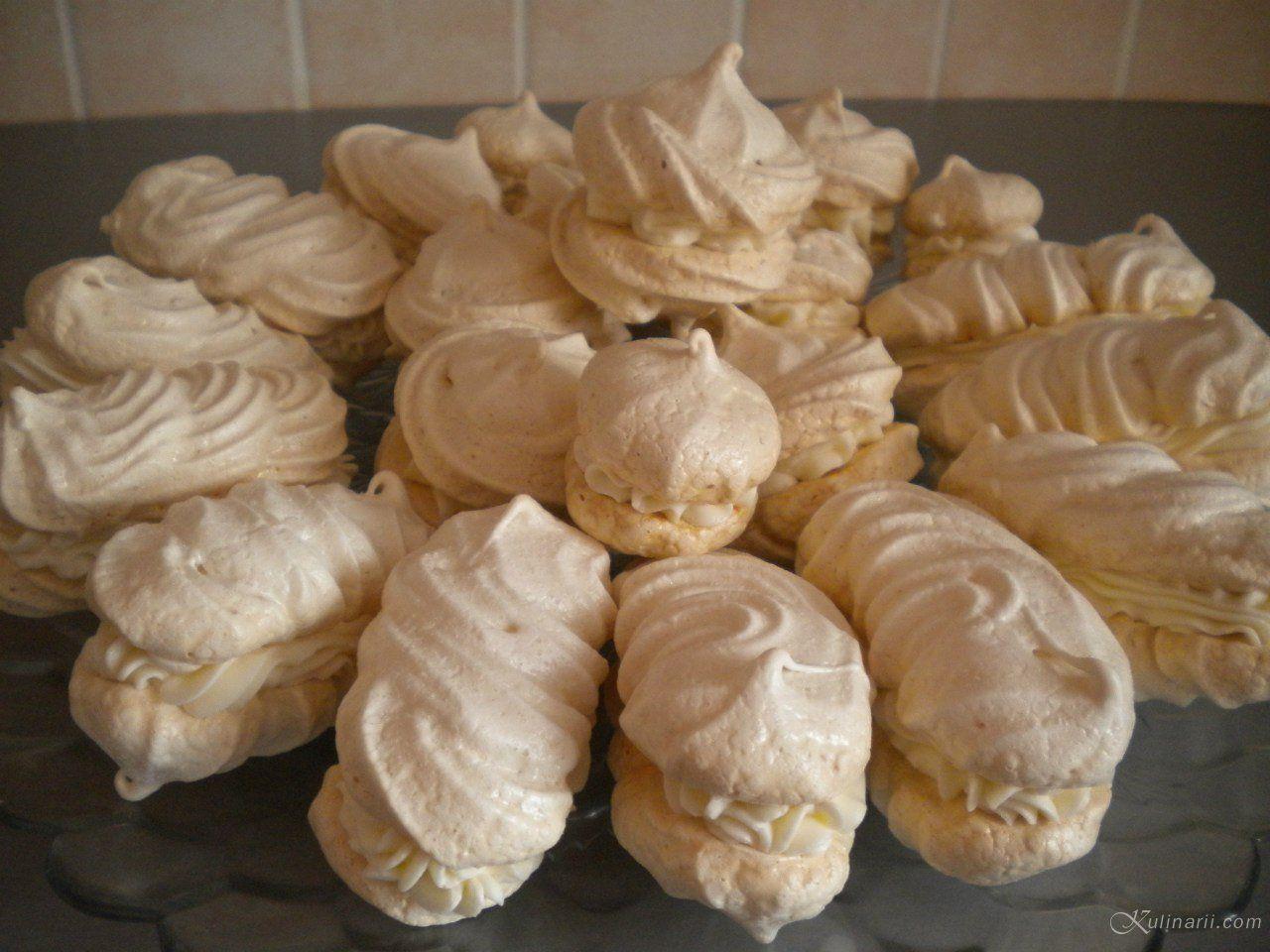 Пирожные безе рецепт с фото пошагово