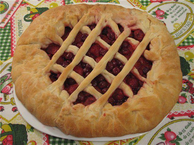 Пирог из клубники из дрожжевого теста рецепты
