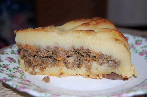 Картофельные пироги рецепты с пошагово 162