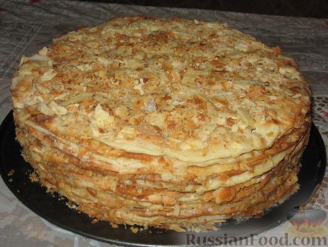 Торт наполеон рецепты с фотой