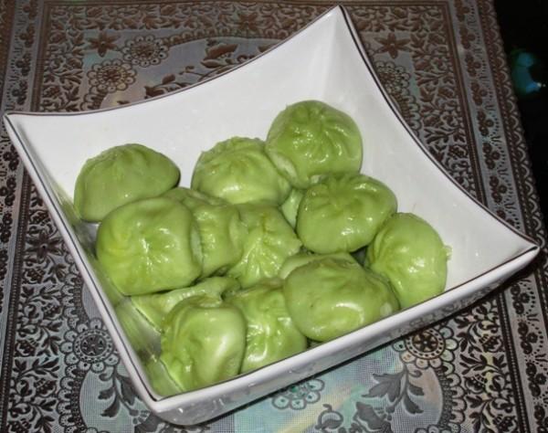 Хинкали с зеленью рецепт пошаговый