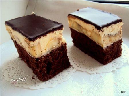 Пирожное день и ночь рецепт с фото