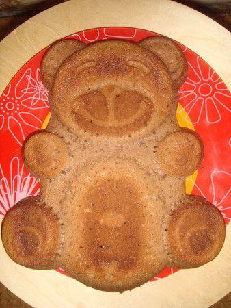 Как испечь торт мишка фото