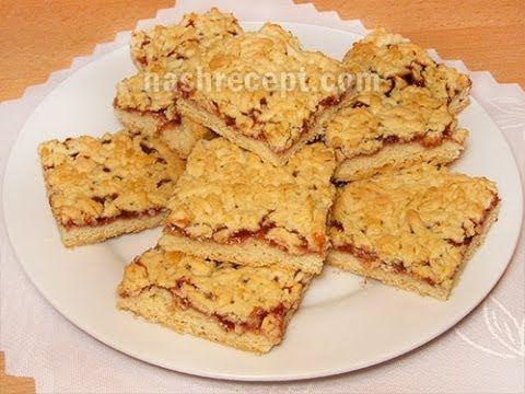 Рецепты песочных пирогов с повидлом и