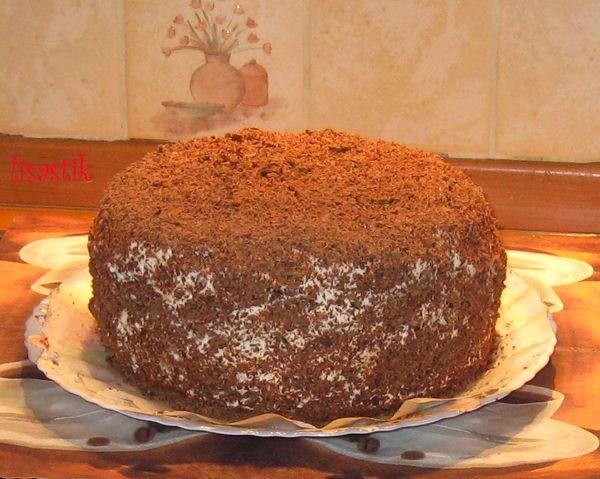 рецепты бисквитный торт видео