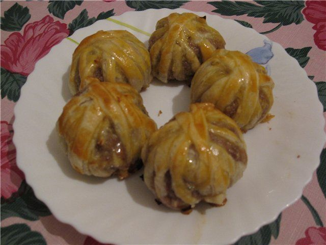 Блюдо из баранины с луком