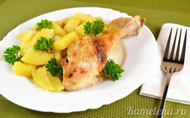 Вторые блюда из картофеля и курицы рецепты простые и вкусные