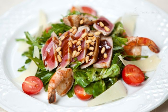 Фото салатов из ресторана