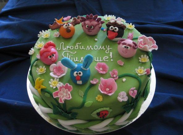 рецепты фруктовых тортов для детей