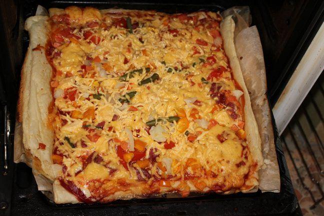 Приготовление пицц в домашних условиях