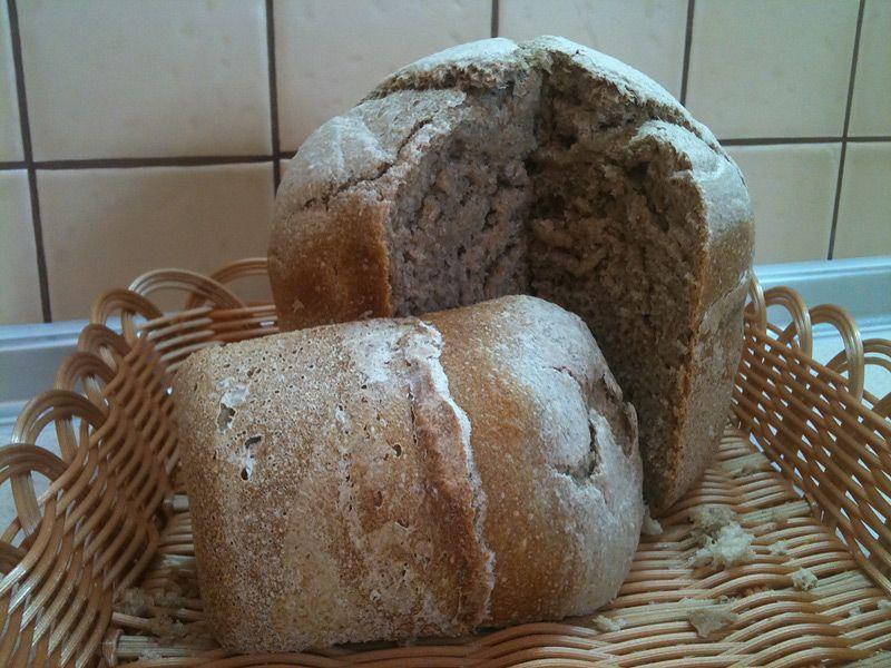 рецепт хлеба без дрожжей духовке