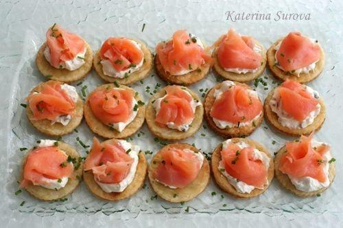 Закуски с красной рыбой рецепты с фото