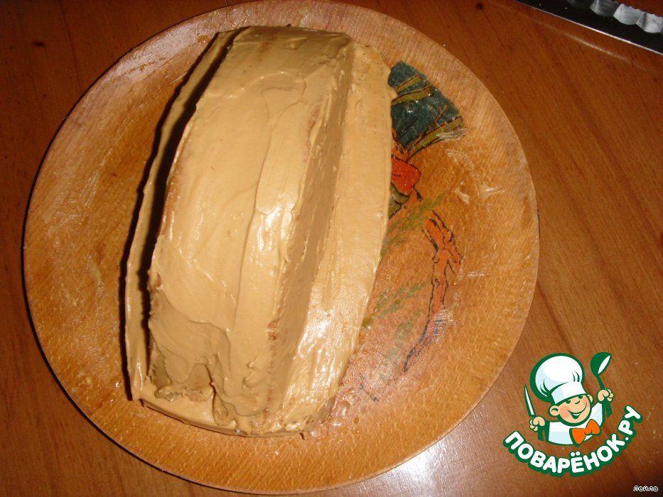 Торт-машина своими руками шоколадный