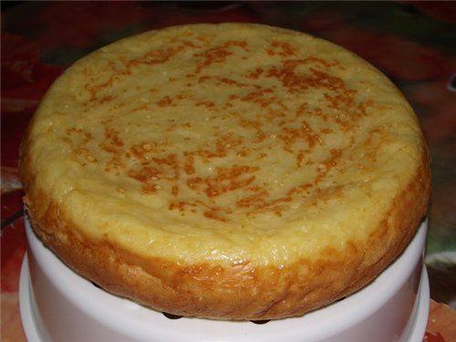 Быстрый картофельный пирог в мультиварке рецепты