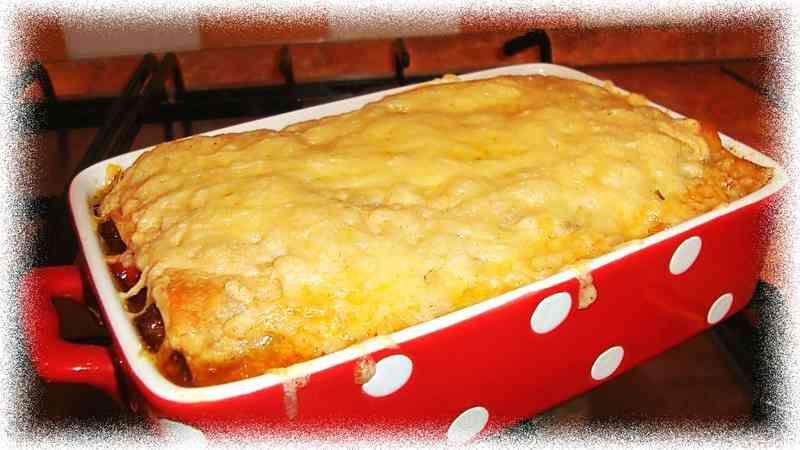Фото рецепт лазанье из лаваша с