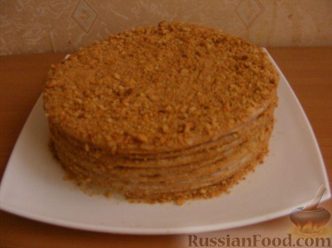 рецепт крема медового торта фото