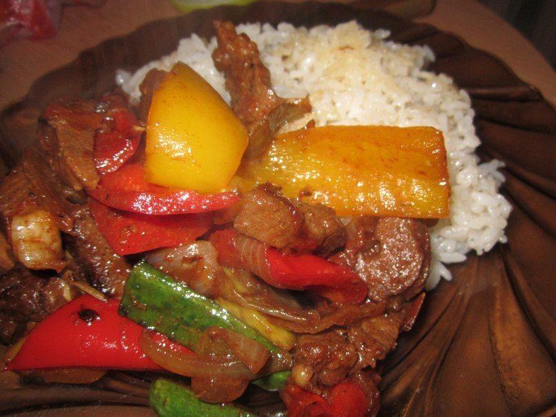 Мясо острое рецепт 154