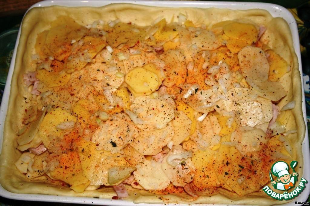 Рецепты пирог с картофелем с