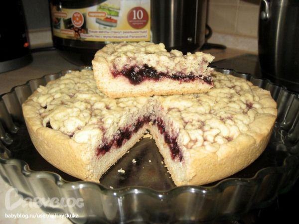 Пирог с вареньем в мультиварке рецепты с редмонд