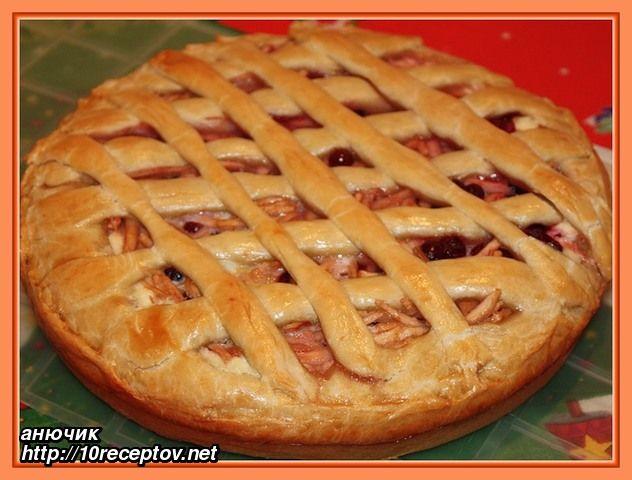 Как сделать пирог в духовке с яблоками