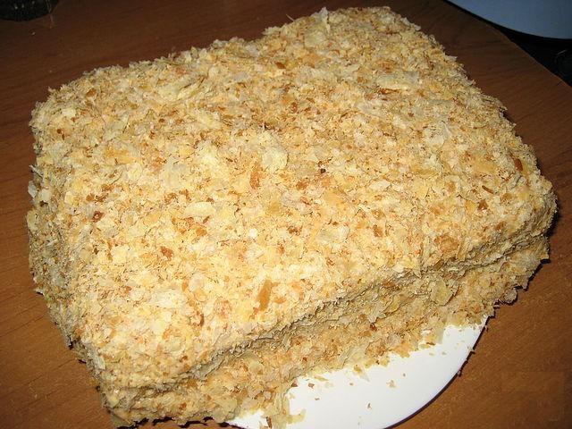 Приготовить торт наполеон фото