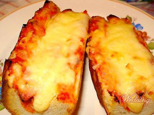 Как сделать бутерброд из багета