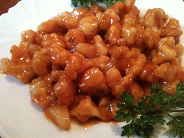 Рецепты курицы в кисло сладком соусе 22