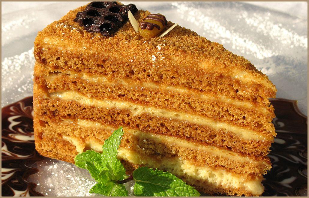 Торт медовый своими руками рецепт с фото