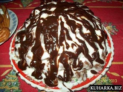 Рецепт торта графские развалины со сметаной пошаговый