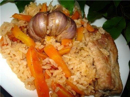 Рис с тушенкой рецепт с фото