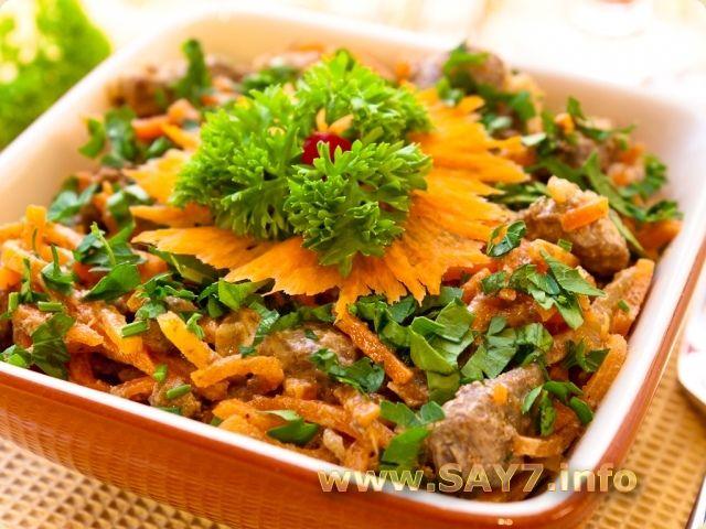 рецепты салатов на зиму с корейской морковью