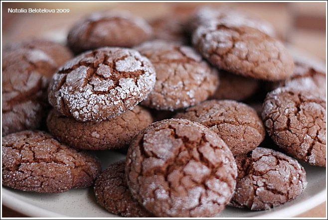 шоколадное печенье рецепт с фото с шоколадом