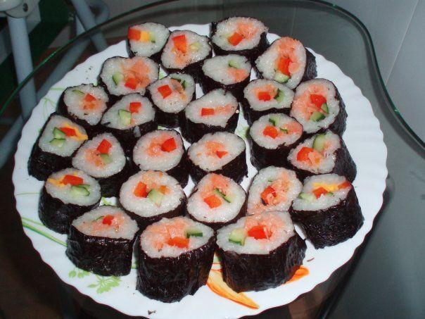 Суши своими руками фото рецепты