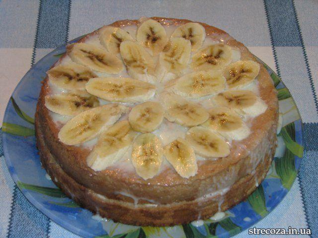Фото рецкпт торт банановый рецепт