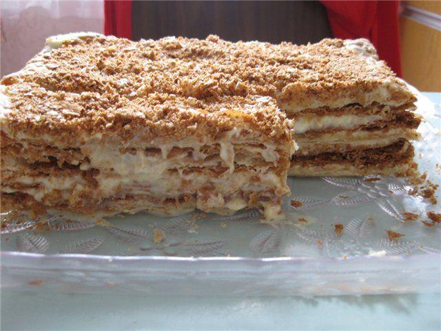 Торт со сгущенкой рецепт простой рецепт