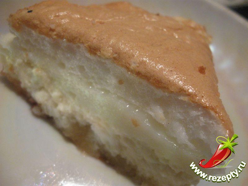 Торт с начинкой из творога рецепт