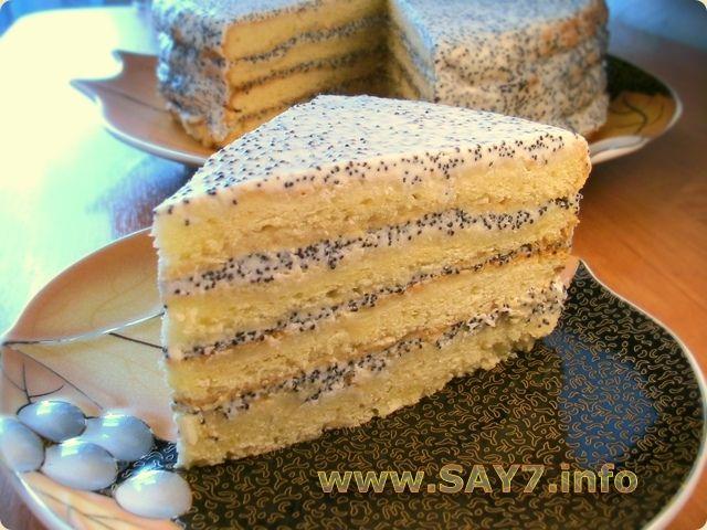 Торт без яиц и без сметаны рецепт с пошагово в домашних условиях