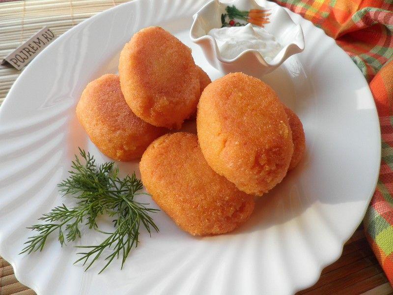 Постные морковные котлеты в духовке рецепт