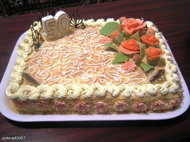 Торт квадратный в домашних условиях 983