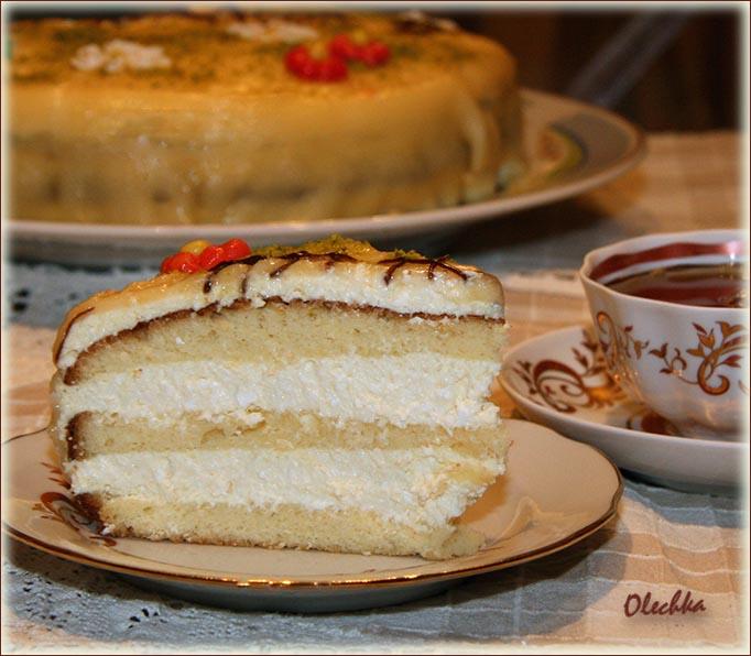 крем пломбир для торта рецепт с видео пошагово в домашних условиях