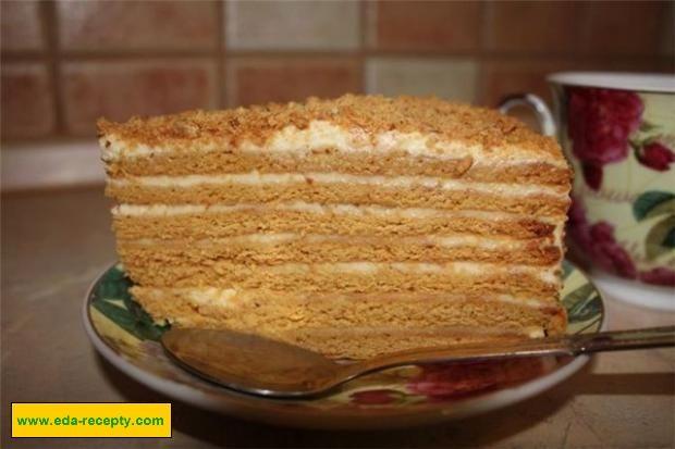 Быстрый но вкусный торт