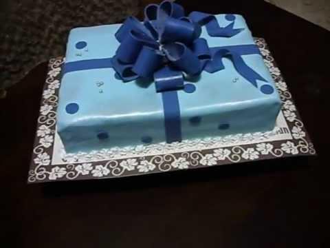 Торт с мастикой своими руками на день рождения