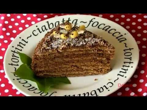 Кулинарные рецепты торт медовый