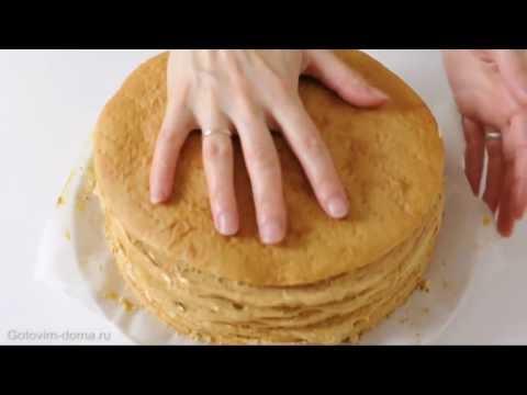 Рецепт торта медовика готовим дома