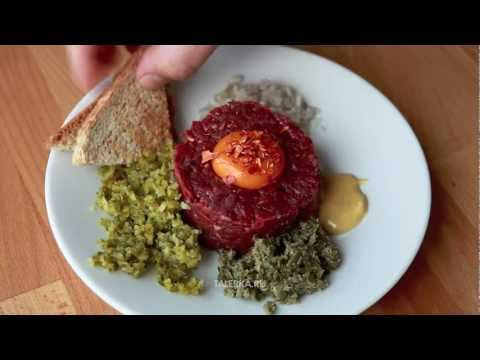 Стейк тартар (Steak tartare, steak ? l'Americaine, filet am?ricain)